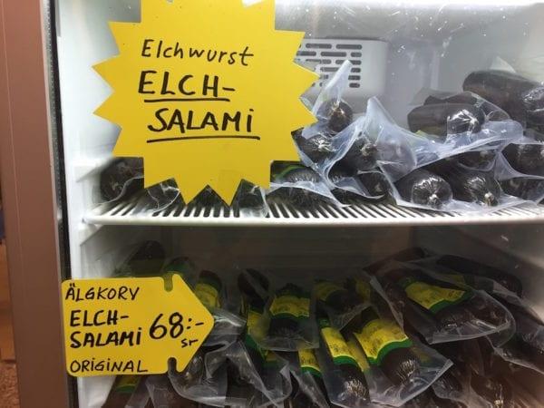Elchfleisch aus Schweden