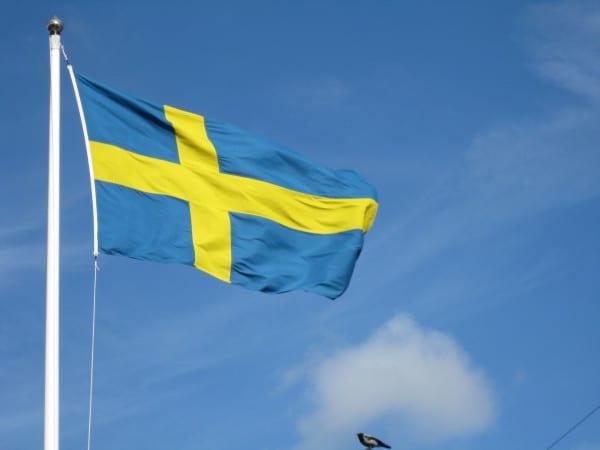 Schwedische Flagge - Sweden Flag - Hej Sweden