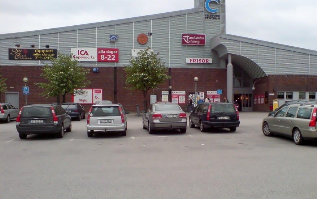 Hej Sweden Parkplatz Volvo