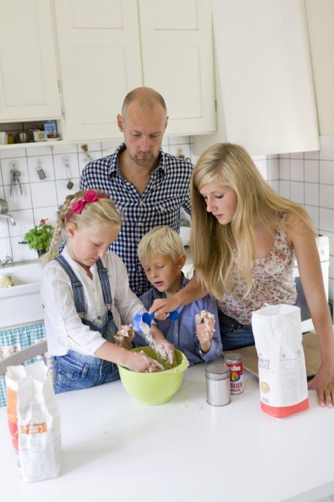 Schwedische Familie