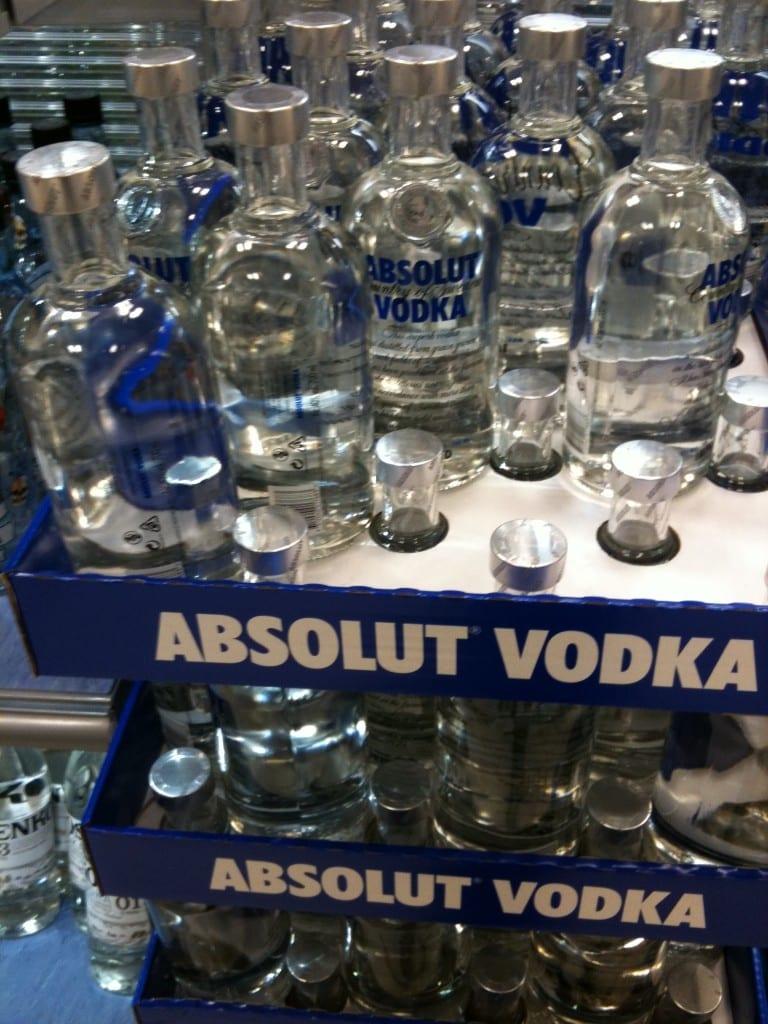 Absolut Vodka - made in Sweden