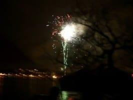 Valborg Schweden Feuerwerk - Hej Sweden
