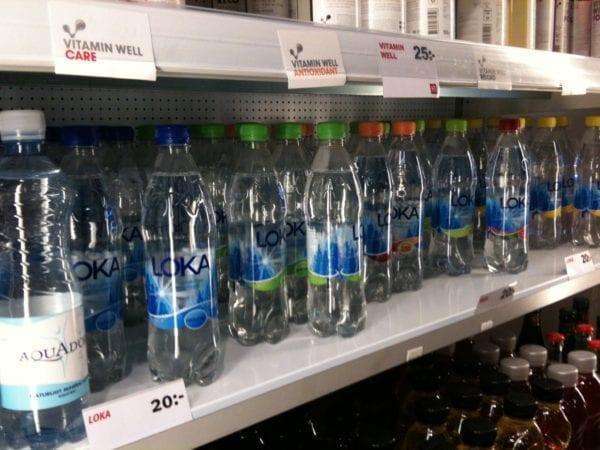 Wasser vatten Loka Hej Sweden Schweden