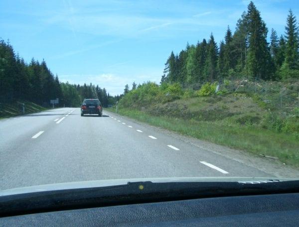 mit dem Auto nach Schweden