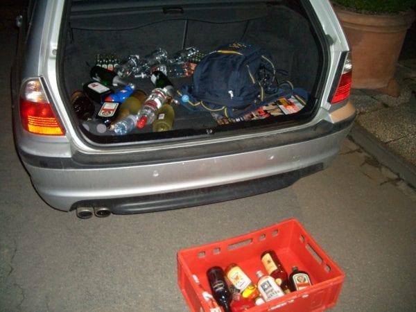Alkoholimport Schweden Zollbestimmungen