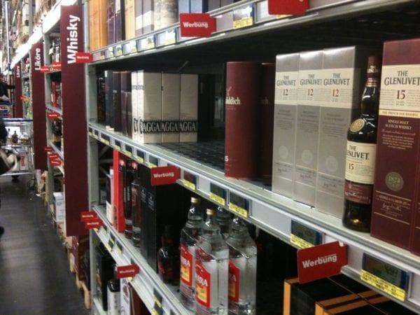 Alkoholimport Schweden