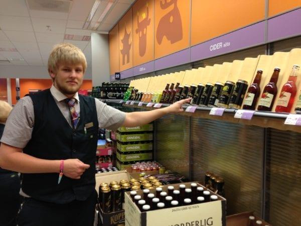 Schwedischen Cider im Systembolaget kaufen - Preise