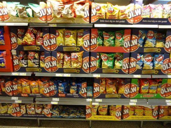 OLW Fredagsmys Chips Schweden