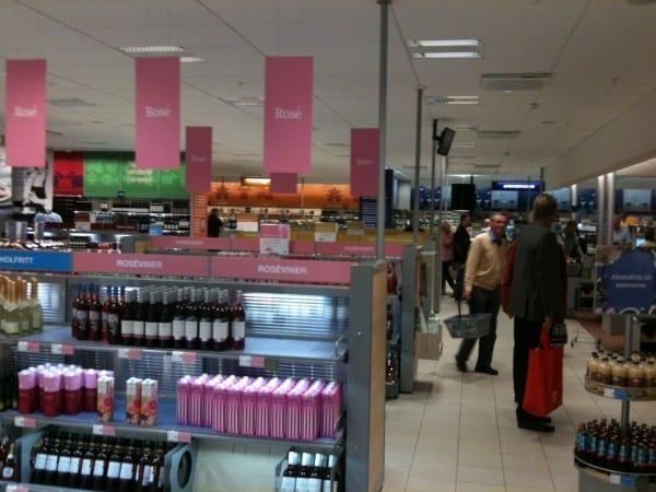 Systembolaget Alkohol kaufen in Schweden