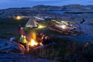Allemansrätten in Schweden, Camping