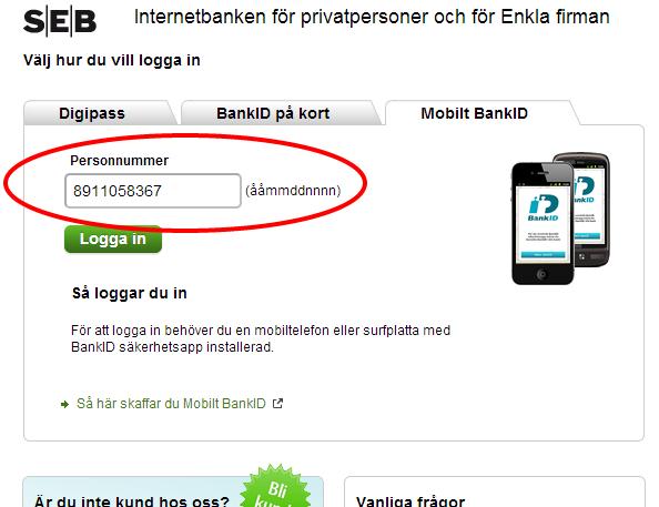 Schwedische Personnummer - Personennummer in Schweden