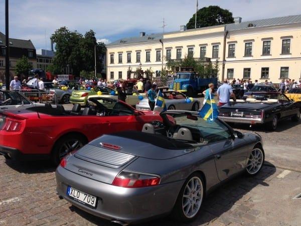 Porsche in Växjö