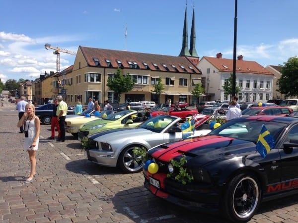 Ford Mustang in Växjö
