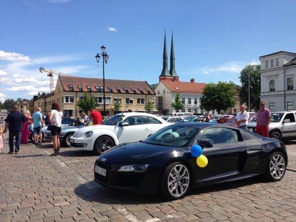 Audi R8 in Växjö