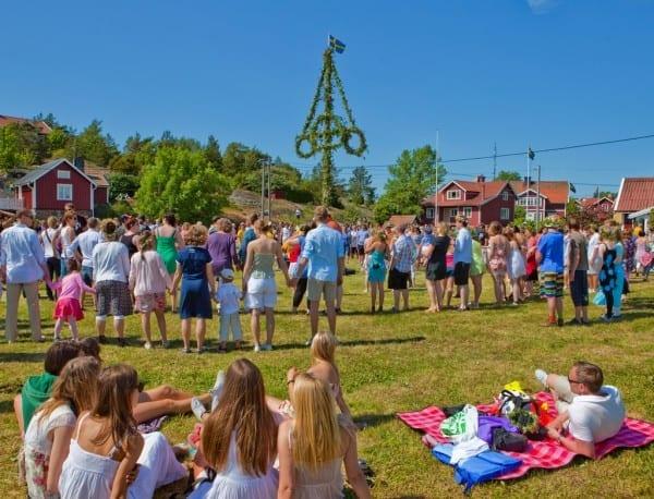 Mittsommar in Schweden - midsommar