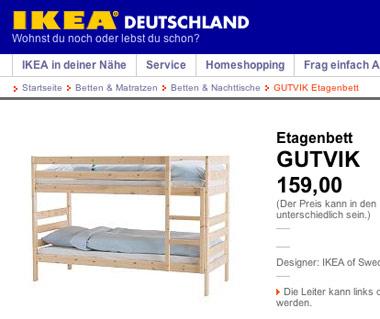 Gutvik Bett