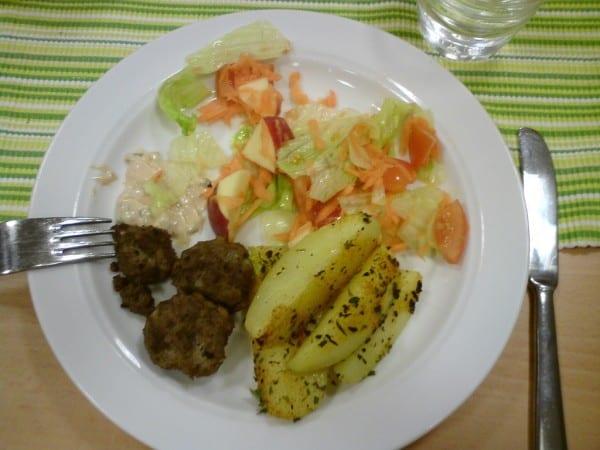 Tallriksmodellen Schweden Essen