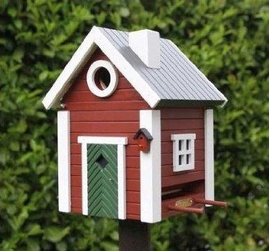 Vogelhaus Geschenkidee für Schweden-Liebhaber