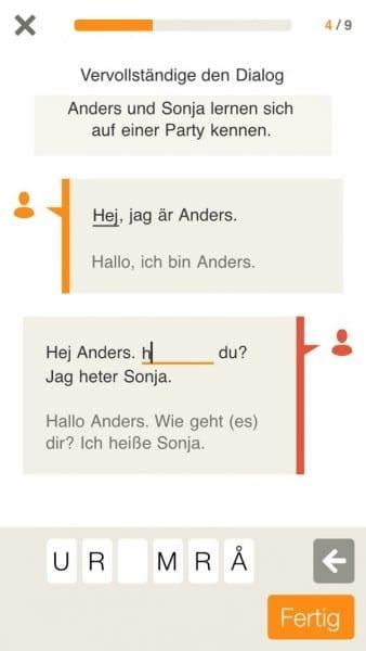 Babbel Schwedisch lernen