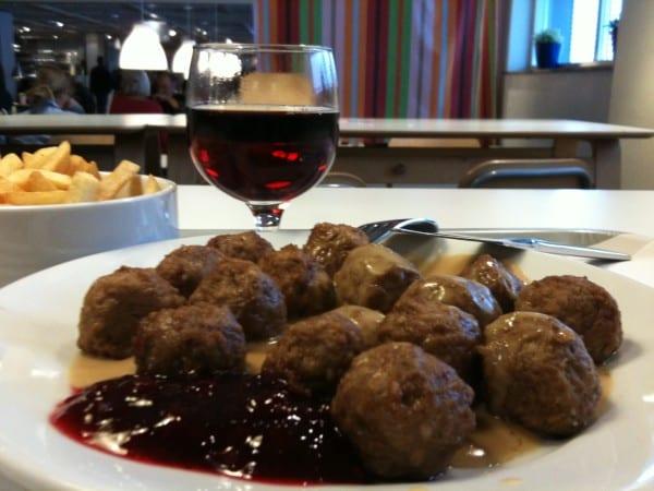 Köttbullar Schweden schwedisches Rezept
