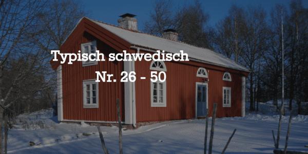 Typisch schwedisch