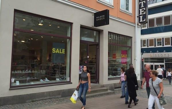 Hier kaufen die Schweden Schuhe