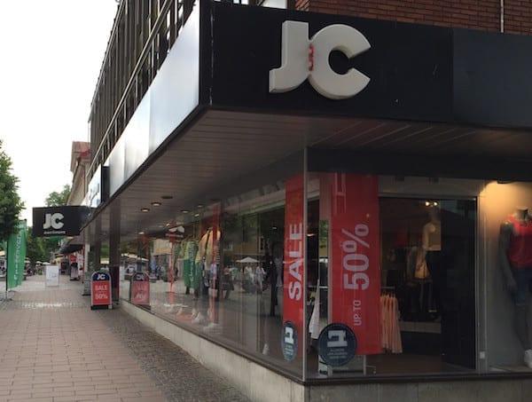 Jeans in Schweden kaufen