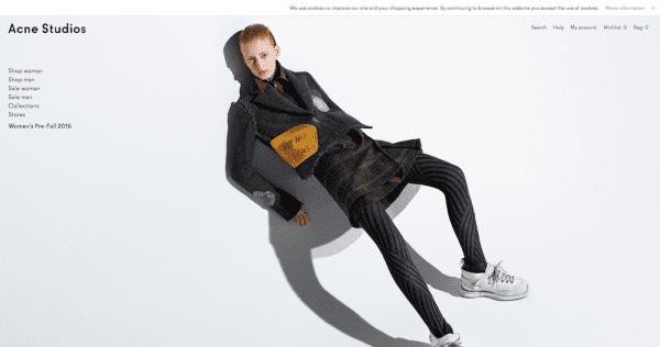 ACNE Schwedische Mode Marken