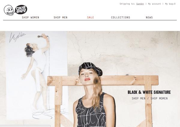 Cheap Monday Schwedische Mode Marken