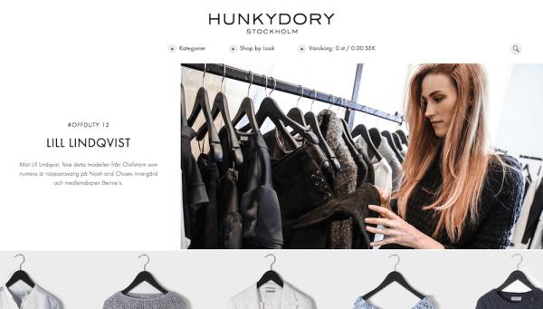 Hunkydory Schwedische Mode