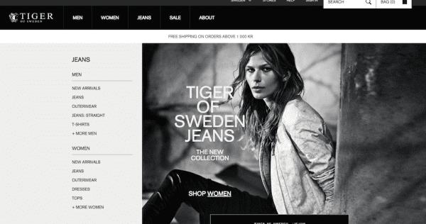 Tiger of Sweden Schwedische Mode Marken