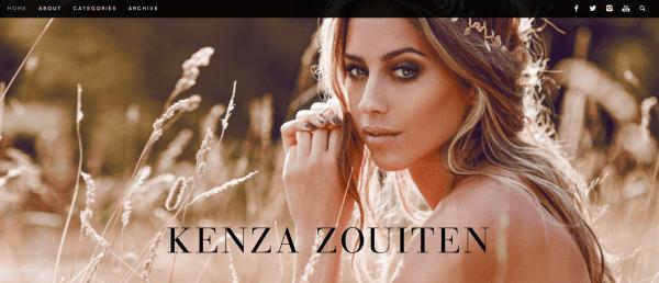 Kenza Schwedische Modeblogs