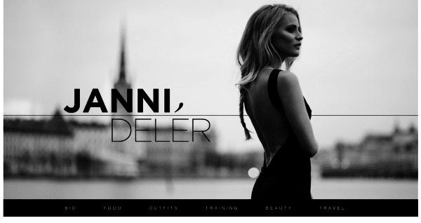 Janni Deler Schwedische Modeblogs
