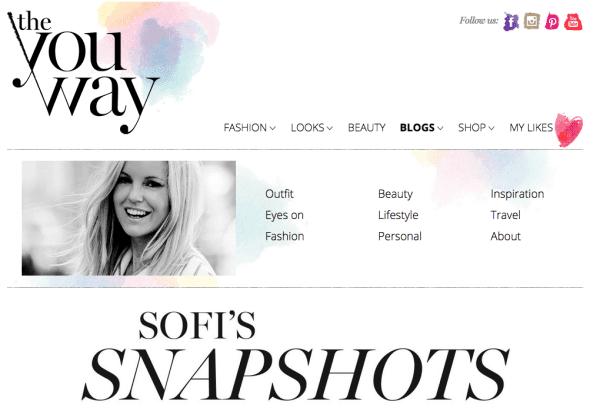 Sofi Fahrman Schwedische Modeblogs