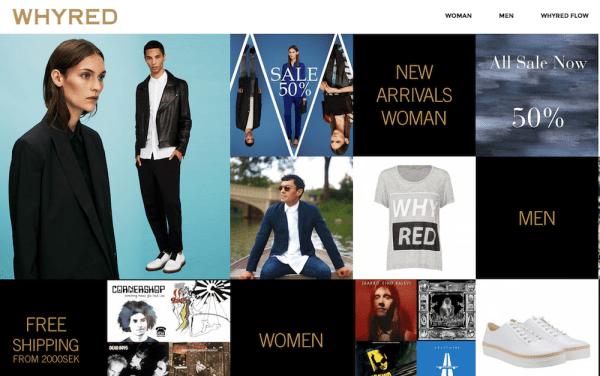 Whyred Schwedische Mode und Shops