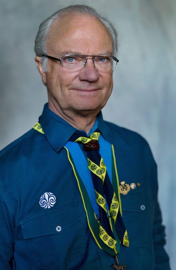 König von Schweden Carl XVI Gustaf