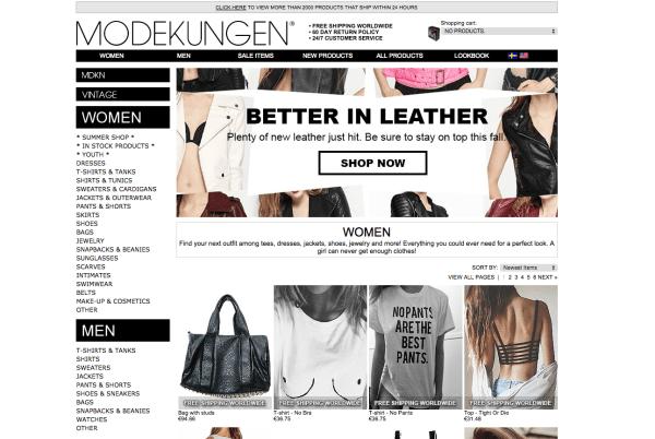 Mode aus Schweden kaufen Modekungen