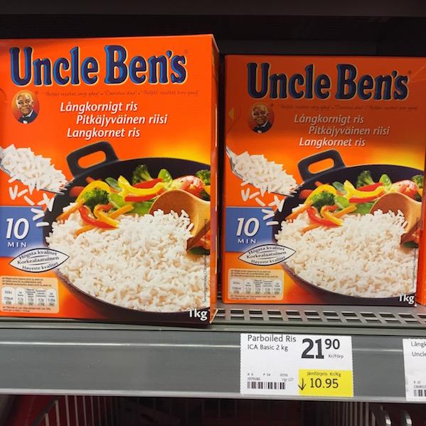 Schweden Lebensmittelpreise Reis