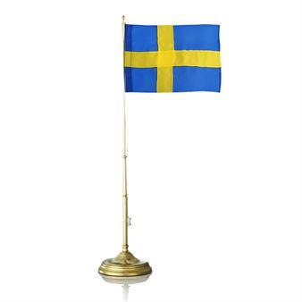 Schwedenfahne Messing