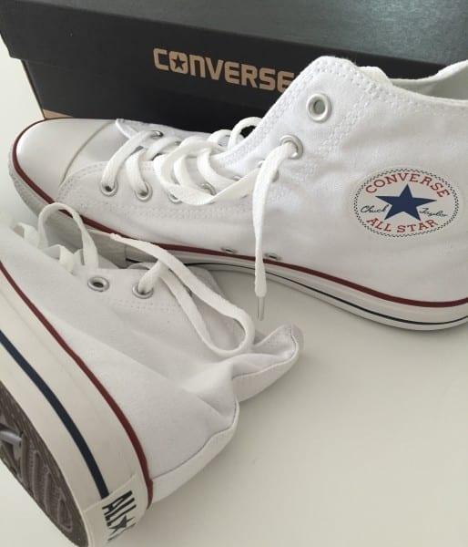 White Converse Chucks Shoe Fashion Sweden