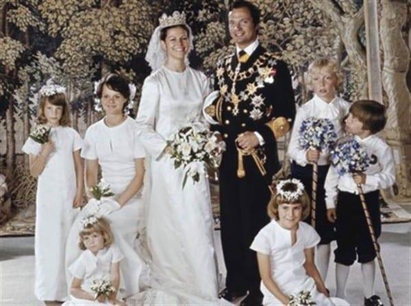 Hochzeit König und Königin von Schweden