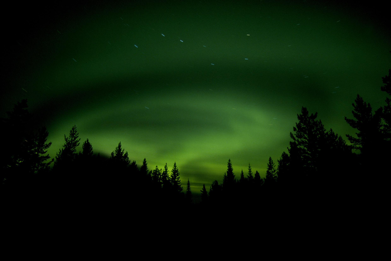 Dunkelheit in Schweden