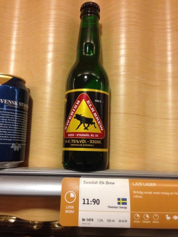 Alkoholpreise in Schweden