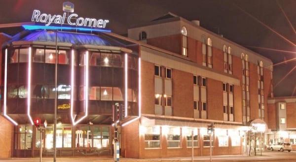 Best Western Hotel Royal Corner Vaxjo Sweden outside