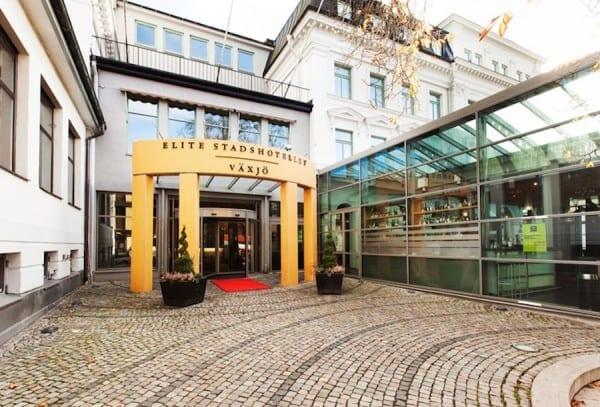 Elite Stadshotell Hotel Vaxjo Sweden outside