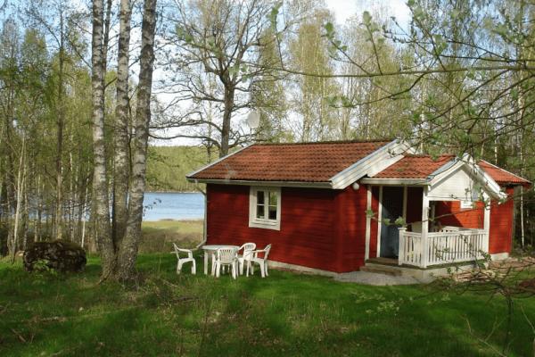 Ferienhaus in Småland am Lövsee