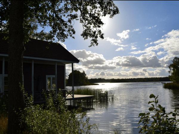 Ferienhaus direkt am See in Småland