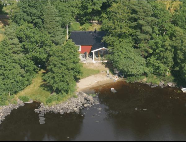 Ferienhaus am See in Småland See Åsnen