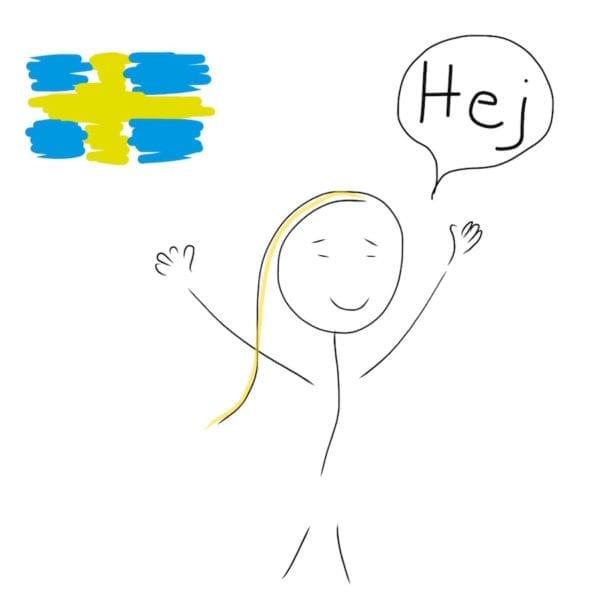 Swedish for hello - hej