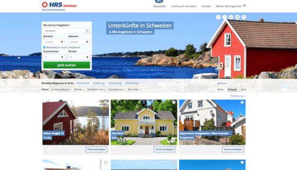 Ferienhaus in Schweden buchen HRS